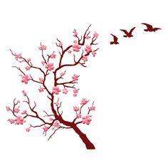 cerejeira desenho parede - Pesquisa Google