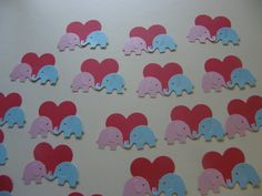 25 Love Elephants by ang744 on Etsy, $3.50