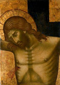 Paolo Veneziano, Ukrzyżowanie Chrystusa - fragment tzw.Croce dipinta