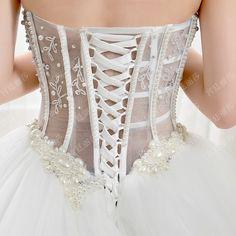 Wedding dress 2016 spring and summer new ultra flash sexy bandage dress Korean version of the bride trailing wedding xj9008- Taobao global Station