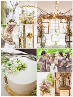 Purely Natural. This website (becomingthemrs.com) has some beautiful and creative ideas...definitely worth a look. by angela