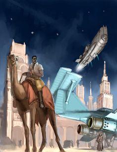 Casablanca Spaceport by MikeDoscher.deviantart.com on @DeviantArt