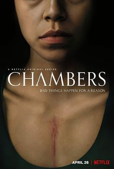 Trailer, featurette, images and poster for Netflix's new supernatural horror series CHAMBERS starring Sivan Alyra Rose, Uma Thurman and Tony Goldwyn. Films Netflix, Netflix Original Movies, New Netflix, Netflix Series, Tv Series To Watch, New Tv Series, Tv Series Online, Drama Series, Supernatural