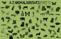 animal photoshop brushes