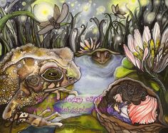 """""""Thumbelina"""" by Erin Hogan © 2011 Etsy store: Purple Eggplants available in 5x7 and 8x10 prints"""