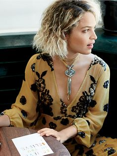 Marly Moretti Snake Chain Shoulder Duster Earrings at Free People Clothing Boutique