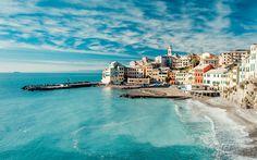 Genoa Bay, Liguria, Italy