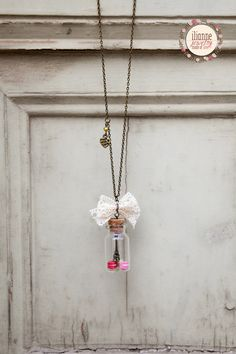 Paris In A Bottle / Glass Jar Macarons / Miniature Food / Romantic Jewelry / French Paris Jewelry / Food Jewelry / Dollhouse Miniature Arrow Necklace, Pendant Necklace, Clay Food, Miniature Food, Glass Jars, Dollhouse Miniatures, Polymer Clay, Jewelry Making, Unique Jewelry