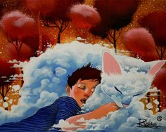 """Child on a cloud"" http://ift.tt/21hmY5t"