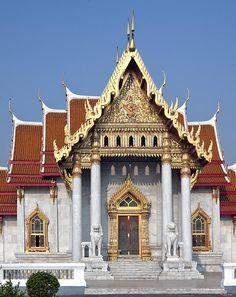 2009 Photograph, Wat Benchamabophit Ubosot, The Marble Temple, Dusit, Bangkok, Thailand. © 2012. ภาพถ่าย ๒๕๕๒ วัดเบญจมบพิตร พระอุโบสถ ดุสิต กรุงเทพฯ ประเทศไทย