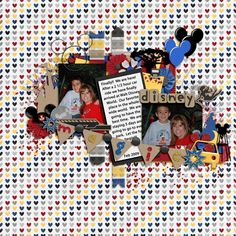 disney scrapbook pages - Yahoo Image Search Results