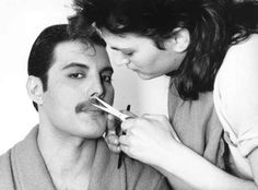 You have to love a man with a 'stache. A nice, well-groomed, 'stache. Such a beautiful fucking 'stache. | 22 Reasons Why Freddie Mercury Was The Most Legendary Man Ever