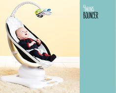 """4moms Bouncer $239. """"2012 Cribsie Award for 'Bouncer Most Likely to Chill Your Baby.'"""""""