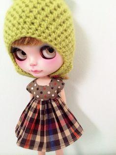 Blythe cotton dress by MINIJIJO on Etsy, $8.00