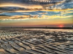 Kleurrijke zonsondergang, 31 augustus 2016 Kijkduin Photo: Petra Simons