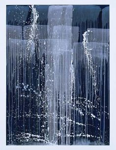 Pat Steir, from her 'Winter Paintings' series.