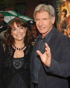 """Karen Allen and Harrison Ford- """"Indiana Jones And The Kingdom Of The Crystal Skull"""" New York Premiere"""