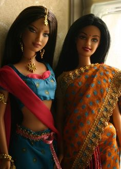 So pretty!♥..wauu…#barbie, #indian barbies.