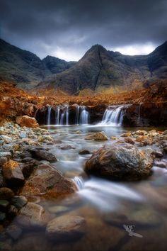 Fairy Pools. Glen Brittle. Isle of Skye. Scotland.