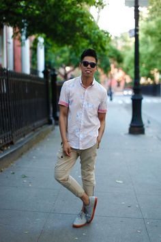 Outfit: Men's Hawaiian Shirts Aloha Summer With... | Closet Freaks | Menswear & Personal Style