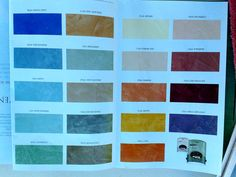 Venetian plaster colors by Behr. Tuscan Paint Colors, Faux Painting Techniques, Behr, Cool Diy, Plaster, Venetian, House Design, Painted Walls, Crafty