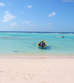 Crystal-clear waters at St.Lawrence Bay, #Barbados