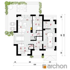 Dom w miłowonkach 3 Floor Plans, Home Decor, Houses, Projects, Decoration Home, Room Decor, Home Interior Design, Floor Plan Drawing, Home Decoration
