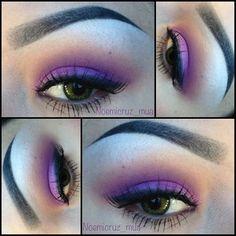Purple eyes!