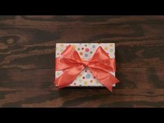 If you've ever want to learn how to finish off your gifts with that perfect, classic bow, you've come to the right place! We'll show you the tricks to gettin...