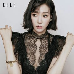 Find images and videos about kpop, snsd and girls generation on We Heart It - the app to get lost in what you love. Tiffany Girls, Snsd Tiffany, Tiffany Hwang, How To Style Bangs, Medium Long Hair, Popular Girl, Girls Generation, Kpop Girls, Ball Gowns