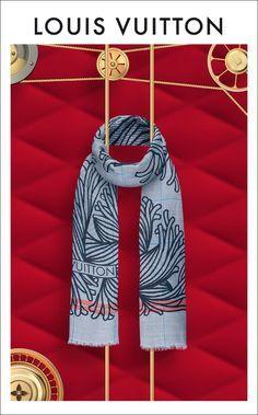 Bundle up with a Louis Vuitton Signature Scarf. Shop Now.