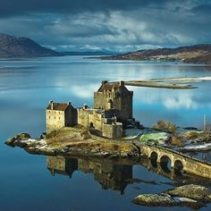 """Eilean Donan Castle, amazing image from DRW photography, #brilliantmoments #visitscotland"""" pinned via the InstaPin iOS App! http://www.instapinapp.com (02/02/2015)"""