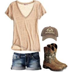"This is so me. ""Fishing"" by redneckprincess26 on Polyvore."