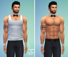 Lumia Lover Sims: Bowtie necklace + cuff bracelets • Sims 4 Downloads  Check more at http://sims4downloads.net/lumia-lover-sims-bowtie-necklace-cuff-bracelets/