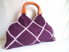 Free shipping HANDMADE & KNITTED BAGS valentine by modelknitting, $54.90