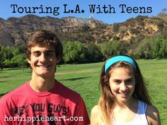 Touring L.A. with Teens