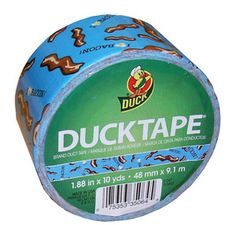 """Bacon Duct Tape 1 88"""" x 10 yds Duck Brand"""