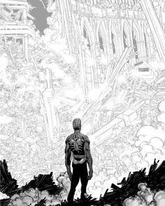 Amazing Spider-Man # 36 by John Romita Jr. Comic Art, Comic Book Characters, Illustrations And Posters, John Romita Jr, Spiderman Art, Art, Street Art, Pop Art, Jr Art