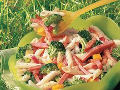 ITALIAN HAM AND PASTA SALAD-ITALIAN HAM AND PASTA SALAD