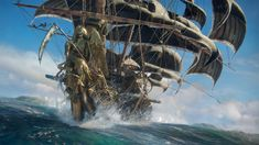 Skull & Bones on PS4, Xbox One, PC | Ubisoft (US) Warcraft Film, Just Dance, The Hunting Ground, Connor Kenway, New Ip, Assassins Creed Game, Pirate Games, All Video Games, Sea Of Thieves