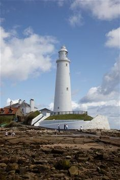 St Mary's Lighthouse,Whitley Bay and Tynemouth - North Tyneside