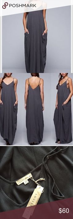 Boho Maxi The perfect slouchy Maxi. 100% rayon. I do not trade. Straps are adjustable. Dresses Maxi