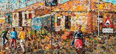 South African Artist Creates Masterpieces By Painting With Plastic | Face2FaceAfrica