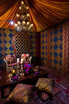 Today, we wanted to share with you a little sneak peek of an Arabian Nights insp. Arabian Nights i Morrocan Decor, Moroccan Room, Moroccan Theme, Moroccan Interiors, Moroccan Design, Moroccan Style, Moroccan Lounge, Moroccan Bedroom Decor, Moroccan Bedding