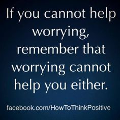 wise words about worry