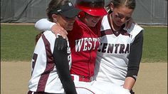 Senior Western Oregon outfield Sara Tucholsky never thought she'd hit a homerun that day, so when the ball soared over the back fence, she couldn't believe her eyes. She made a break for first base and felt her knee suddenly give out. You won't believe what happens next.