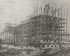 With rail traffic on the rise, construction had already started on the much larger Michigan Central Station in 1910.