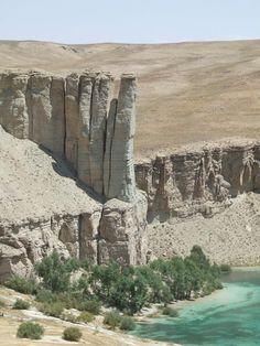 Bamyan lake, Afghanistan