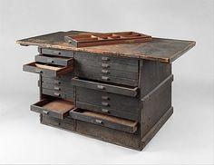 Work bench from Tiffany Studios Tiffany Studios  1900–1907