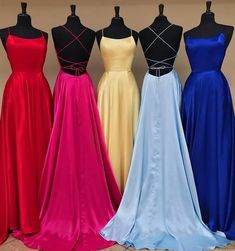 Simple Long Prom Dress With Slit Sweet 16 Dance Dress Fashion Winter Formal Dres. Simple Long Prom Dress With Slit Sweet. Pretty Prom Dresses, Simple Prom Dress, Sweet 16 Dresses, Prom Dresses Blue, Sweet Dress, Ball Dresses, Homecoming Dresses, Evening Dresses, Sexy Dresses